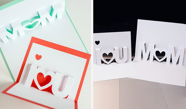 pop-up papered cards